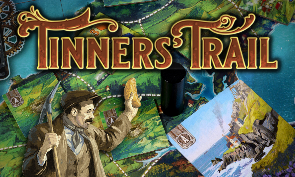 The German edition of Tinners' Trail is now available for pre-order!